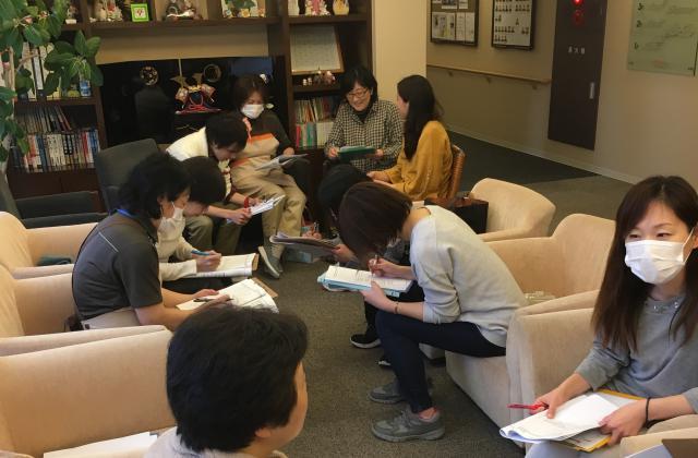 【AH横浜東寺尾】「緊急時の対応-非常災害」「医療的ケア」「虐待防止」★2月のラウンド研修のテーマです。