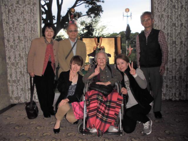 【AH三郷】「毎年、家族と行っていた椿山荘に、またみんなで行きたい!」そのお声を聞いて、ご家族と一緒に行ってきました