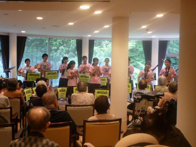 【AH川崎中央】近隣中学校の吹奏楽部による演奏会を、ホームで開催して頂きました!
