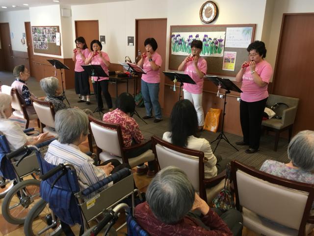 【AH大泉学園】オカリナ演奏会が開催され、素敵な音色に聴き惚れました☆