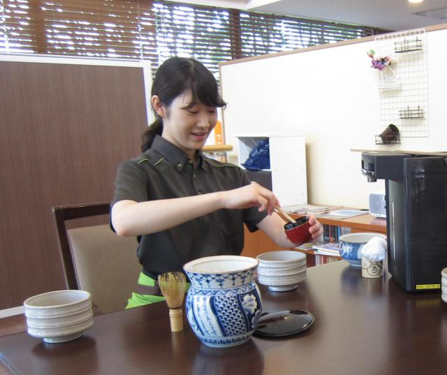 【AH中浦和】茶道サークルが開催されました!お抹茶と和菓子で一息つける時間です☆