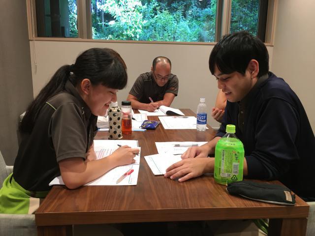 【AH川崎中央】8月のラウンド研修☆介護予防の意義や、ICFの理解の再確認をしました。