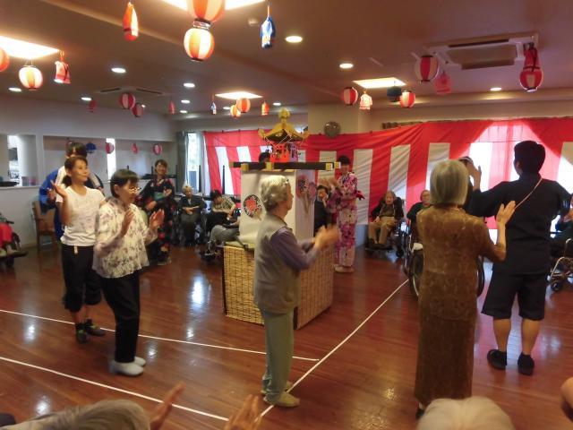 【AH文京白山】BGMはお囃子で!待ちに待った納涼祭!お祭り気分一色の1日となりました!