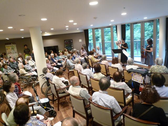 【AH川崎中央】開設3周年記念☆プロのバイオリニストによるコンサートが開かれました♪