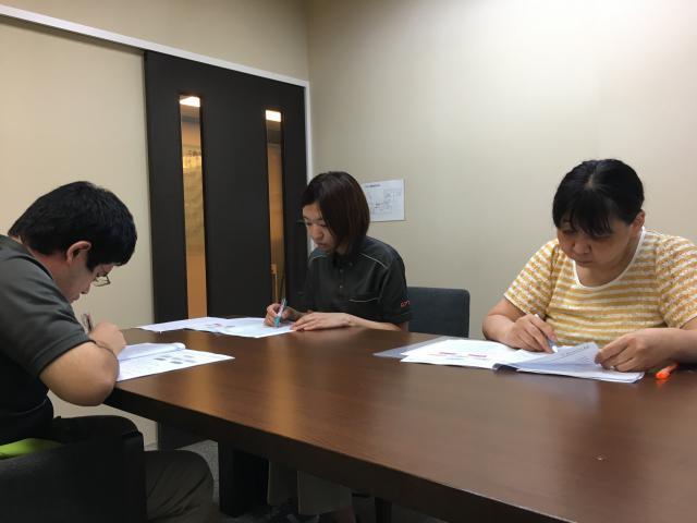 【AH横浜東寺尾】9月のラウンド研修■介護過程・虐待防止