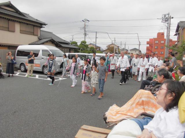 【AH千葉幕張】神輿を担ぐ子供達の姿に釘づけ!毎年恒例の町内会のお祭りの日でした♪
