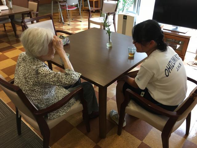 【AH大泉学園】中学二年生の女子生徒2名が、職場体験にやってきました!