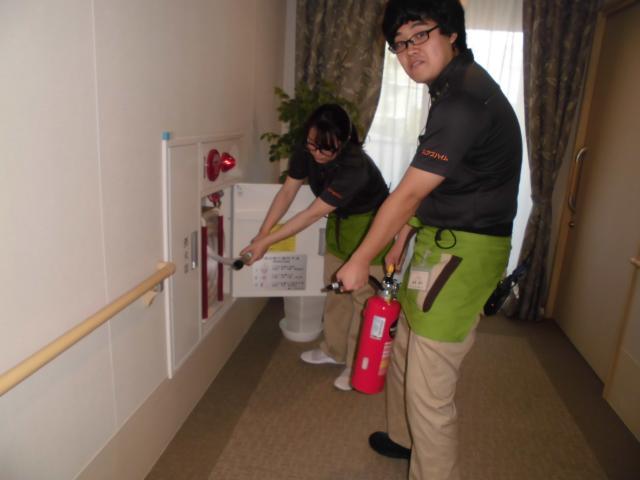 【AH町田】日頃の訓練が重要です。ご入居者も一緒に「防災訓練」を実施致しました。