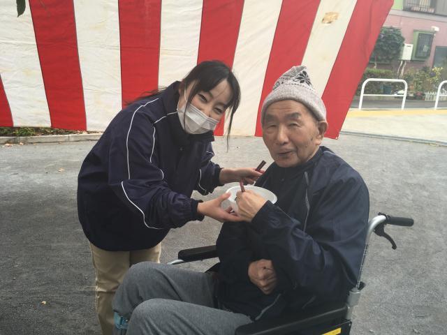 【AH大泉学園】寒い日に外で食べるお雑煮やお汁粉は格別!町内会の餅つきに参加しました♪