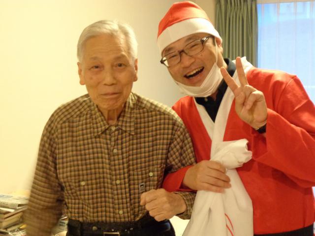 【AH千葉幕張】クリスマスと言えば♪サンタクロースがホームにやってきた♪