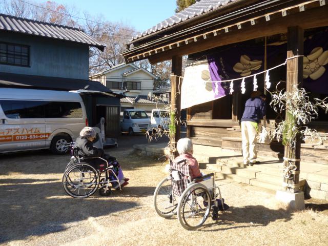 【AH川越】絶好のお散歩日和の中、ドライブもかねて初詣に行ってきました!