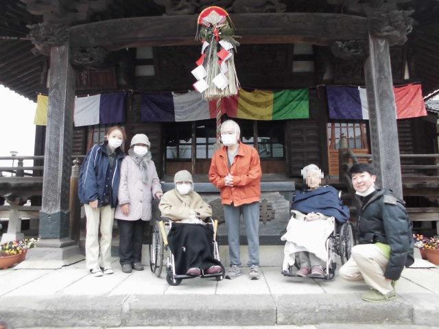 【AH三郷】市内の不動尊へ、初詣に行ってきました!快晴の中、楽しいお出かけとなりました♪