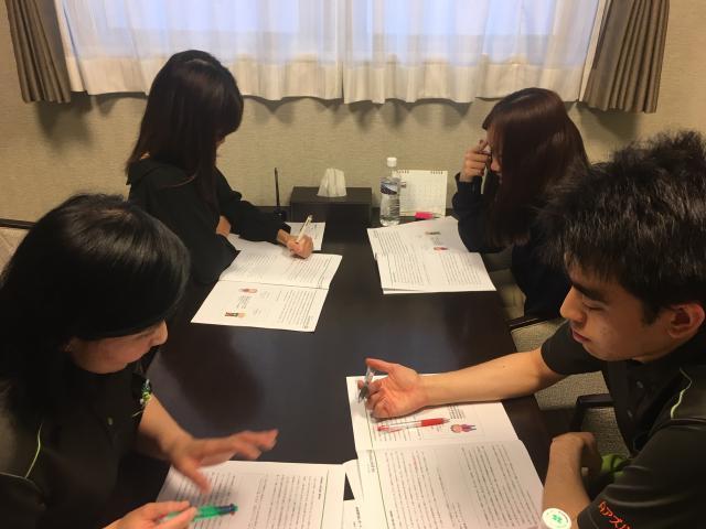 【AH文京白山】ラウンド研修レベル1「発達と老化の理解」「事故予防と再発防止」について学びました。