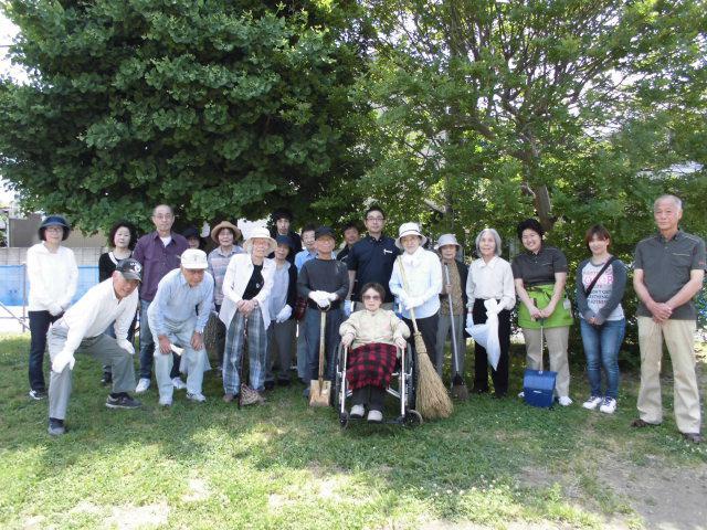 【AH光が丘】町内会の一斉清掃に参加しました!近所の公園や道が綺麗だと、気持ちがいいですね!