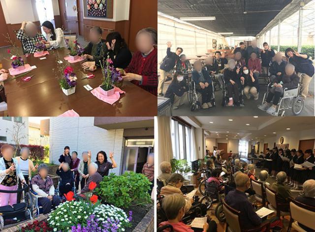 【AH大泉学園】日々のレクリエーションや外出イベントなど、写真を撮り、ホームに掲示し、その後ファイリングしてお渡ししています。