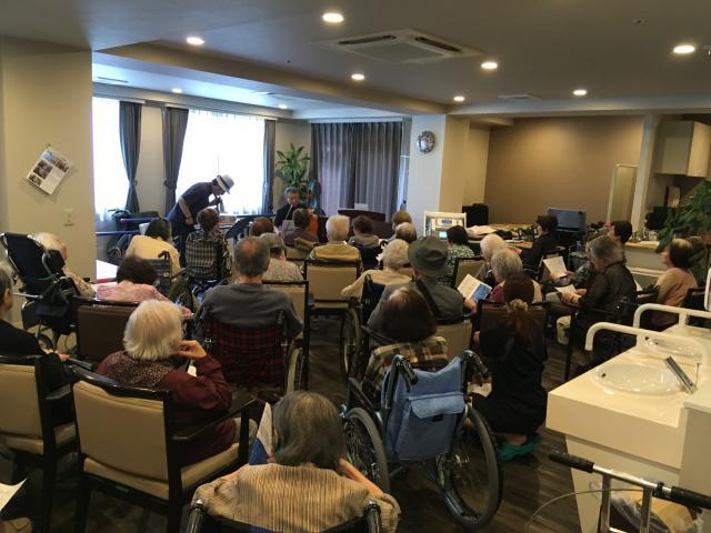 【AH三郷】チェロ、バイオリン、ピアノの音色にウットリ☆コンサートを開催いたしました!