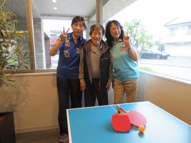 【AH町田】卓球コーナーがオープン!!ご入居者が楽しみながら体を動かしています♪