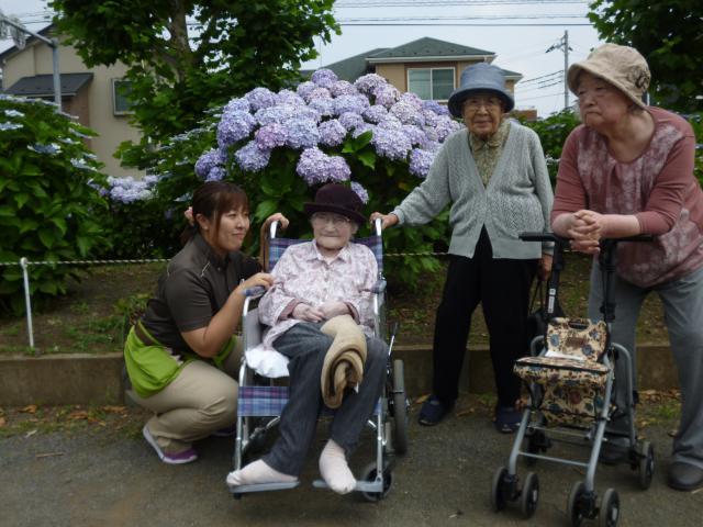 【AH川越】あじさい鑑賞ツアーに行ってきました☆お出かけは、ワクワクして楽しいですね!