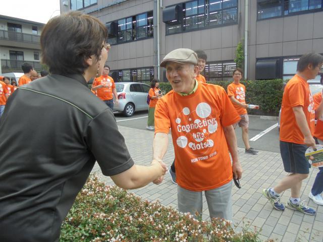 【AH横浜いずみ中央】認知症の人と一緒につなぐ日本全国縦断タスキリレーRUN伴に参加しました!