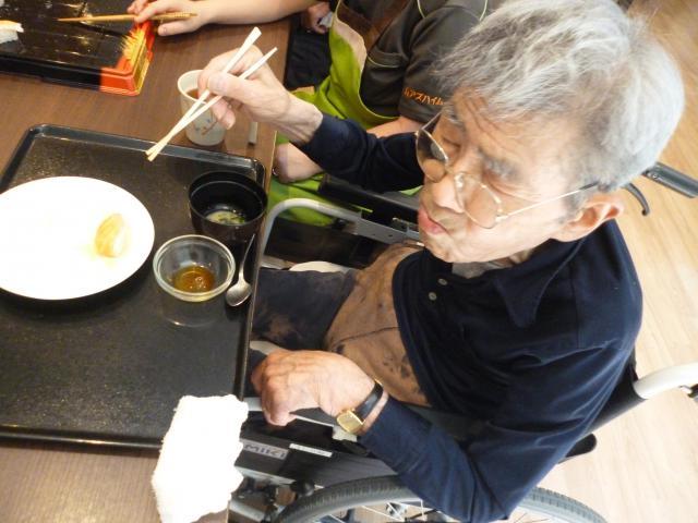 【AH川崎中央】毎月行われる食のイベント♬今回は「出前寿司」を楽しみました♬