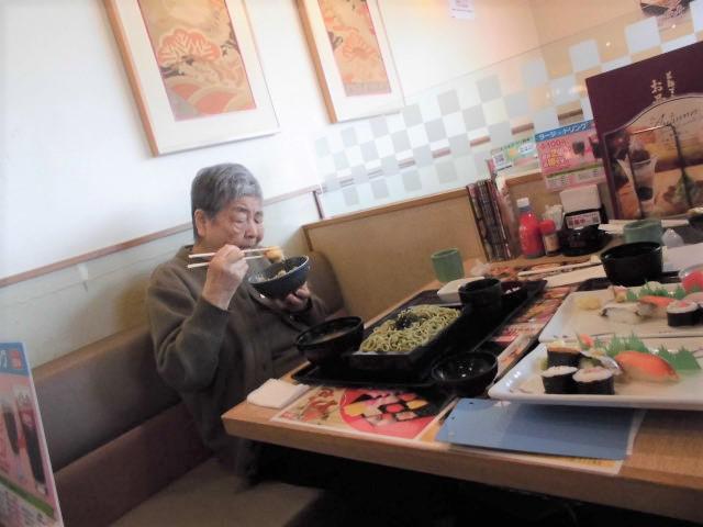 【AH三郷】待ちに待った、外食レクへ行ってきました!鮨、そば、天ぷらなどを選べる、あのお店です!