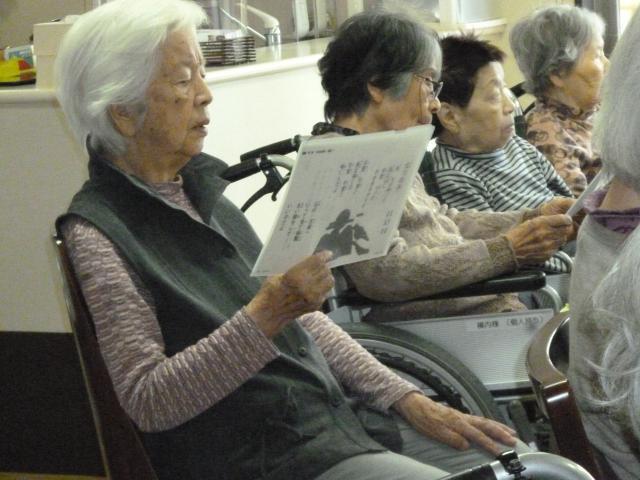 【AH川越】大迫力の航空ショーを見学し、その後はボランティアの方による音楽会を楽しみました♬