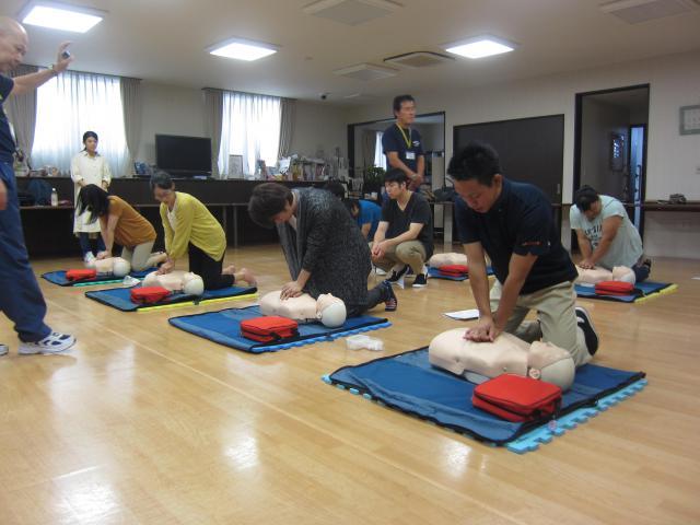【AH中浦和】いざという時に落ち着いて行動できるように、「普通救命講習」を受けました。