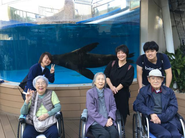 【AH町田】今回のバス旅行はサンシャイン水族館です!水族館と懐石料理を楽しみました♬