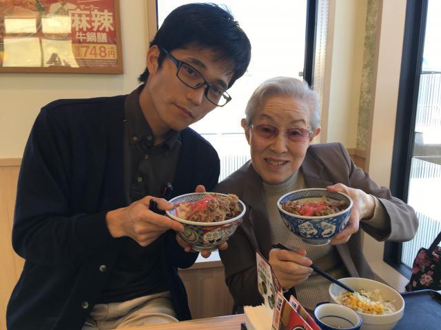 【AH三郷】お肉大好き!なご入居者が行ってみたかった場所。それは、「吉野家」でした!