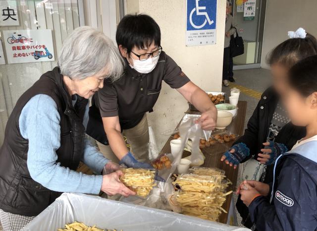 【AH横浜いずみ中央】屋台販売スタッフとして、地域のイベントに参加してきました!