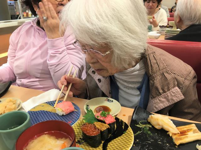 【AH光が丘】大人気の外食レクリエーション!みんな大好き!お寿司を食べに行きました!