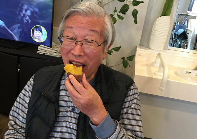 【AH三郷】アツアツ♬ホクホク♬の美味しい焼き芋を、みんなでたくさん食べました!