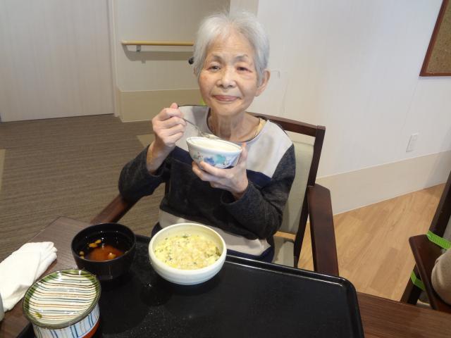 【AH川崎中央】3月のイベント食は「釜揚げしらす丼」です♬初めて召し上がる、という方もいらっしゃいました☆