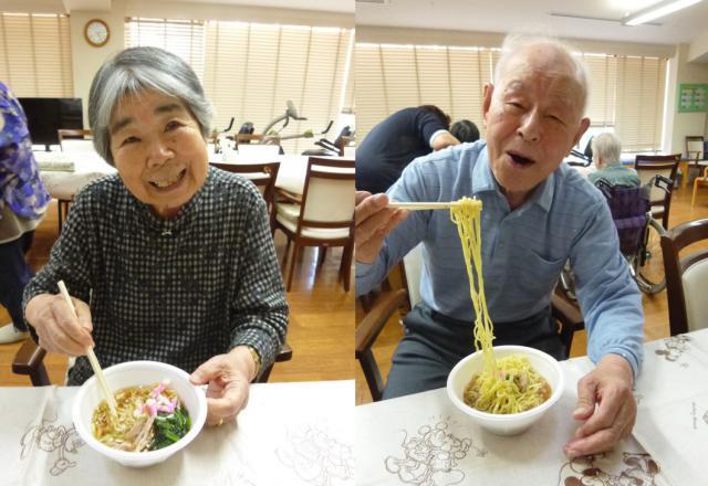 【AH横浜東寺尾】中華料理が大好きなご入居者のみなさまのために、今回は「ラーメン」レクを開催しました♬