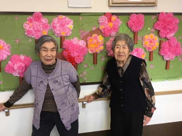 【AH川越】可愛いピンクのお花をたくさん咲かせることができました!