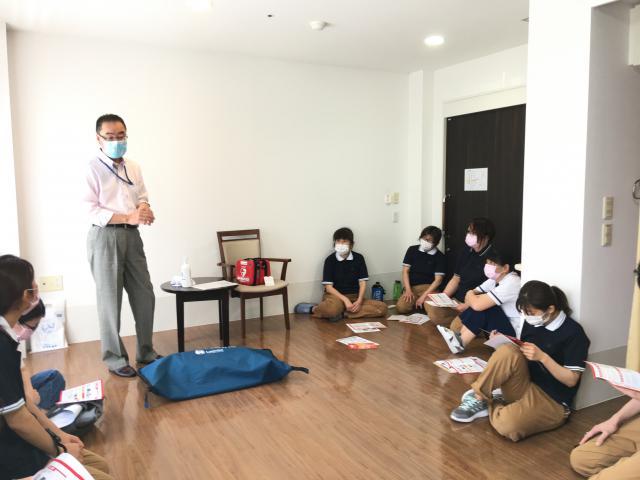 【AH南浦和】全スタッフを対象とした、AED研修を行いました!
