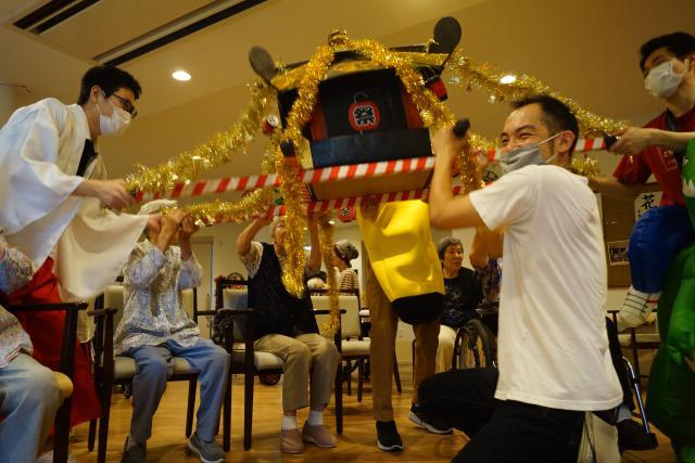 【AH川崎中央】今年の納涼祭は、参加者の変更や時間帯やフロアを分けるなど、工夫をして行いました♬