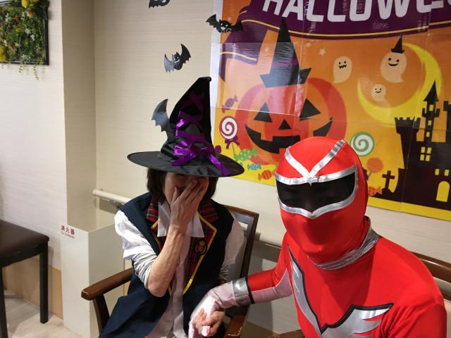 【AH南浦和】ハロウィン気分を味わいたい!今年のハロウィンは、仮装で楽しみました☆