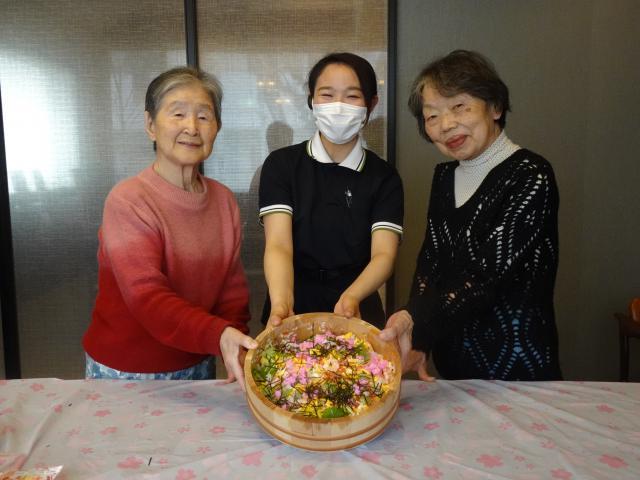 【AH上福岡】「久々にお料理をしてみたい!」それなら、「夢プロ」でちらし寿司を一緒に作りましょう!