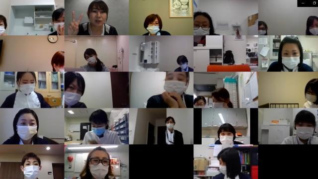 【看護スタッフミーティング】ホームと、デイサービス・ショートステイの管轄が一緒になるため、顔わせも含めたMTGを行いました。