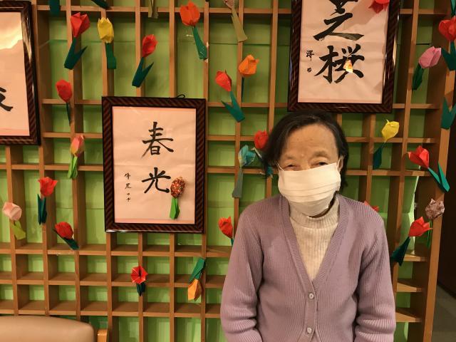 【AH東浦和】エントランスからエレベーターに向かう廊下には、様々な掲示物を展示しています!