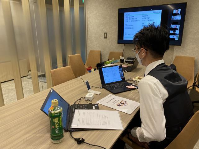 【新卒スタッフ研修】今回の研修の内容は、「全人的理解~ナラティブ・EBC(エビデンス・ベースドケア)・ICF(国際生活機能分類)~」です。