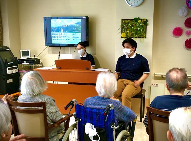 【AH南浦和】音楽会においしいランチ♬盛りだくさんの母の日レクリエーションが行われました♬