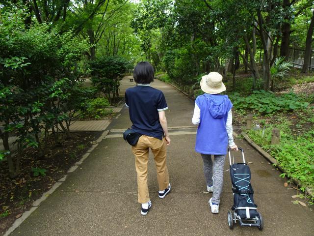 【AH杉並井草】夢プロ☆「また公園を歩きたいわ!」ご本人の懸命なリハビリに合わせて心のケアもさせていただき、ついに夢が叶いました!