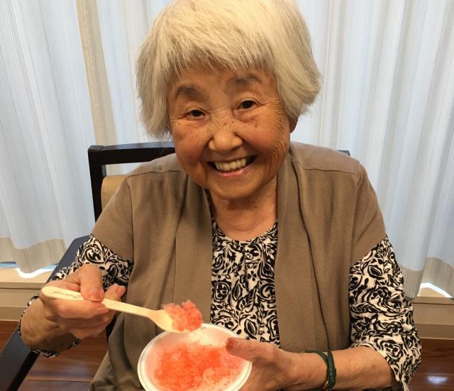 【AH文京白山】かき氷やコーヒーゼリーを堪能しました☆暑い夏を冷たい食べ物で乗り切りましょう!