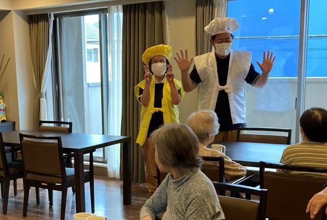 【AH三郷】今年の敬老会では、長寿のお祝いで「傘寿」「米寿」「卒寿」「白寿」の方々をお祝いしました♬